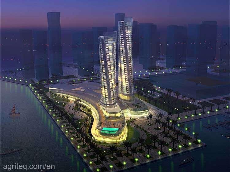 Al-Lusail-Towers-Complex-Qatar-o-1