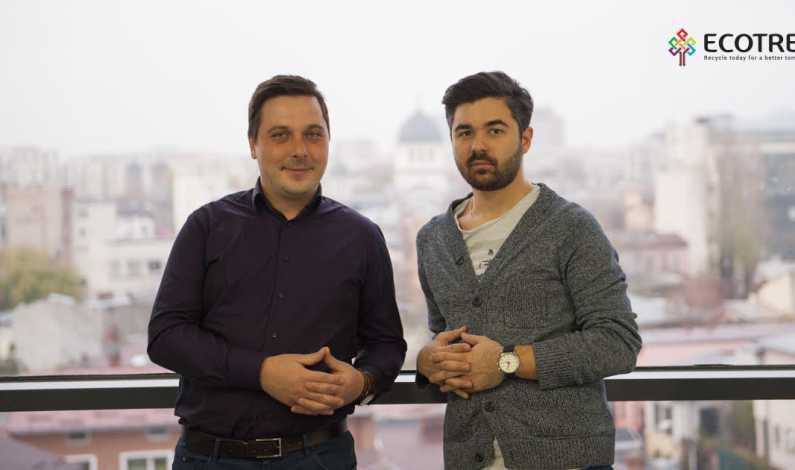 Fondatori EcoTree_Bogdan Andronache si Alexandru Petrescu