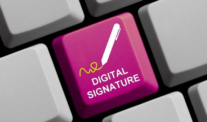 semnatura digitala documente firme institutii