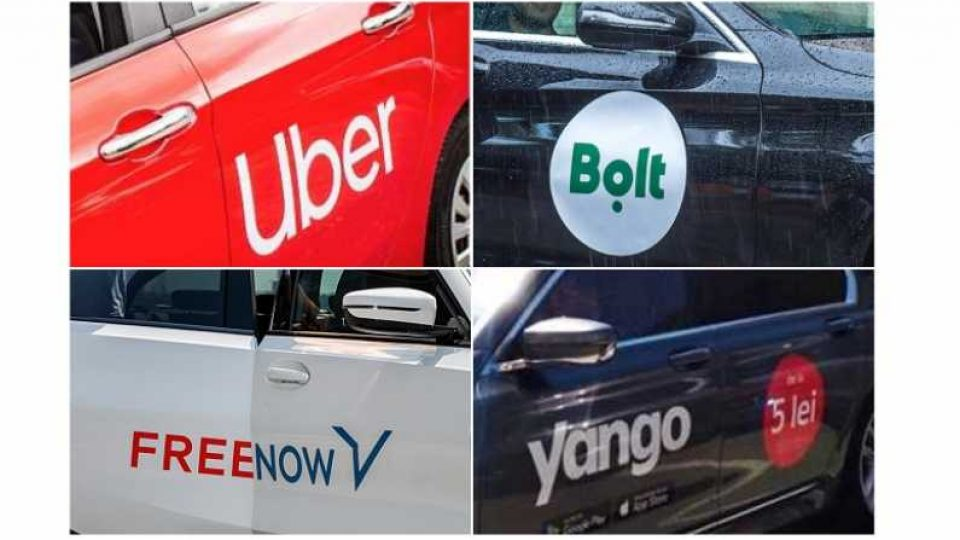 Uber Bolt Yango Free Now Romania